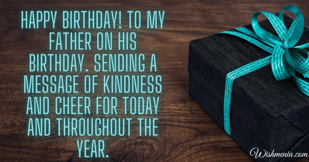 kindness messages for birthday