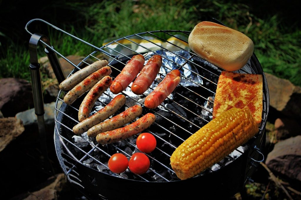 Barbecue on birthday